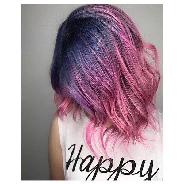 Super Short Vibrant Hair