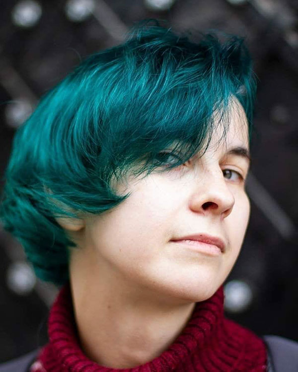Short Green Hair Pictures