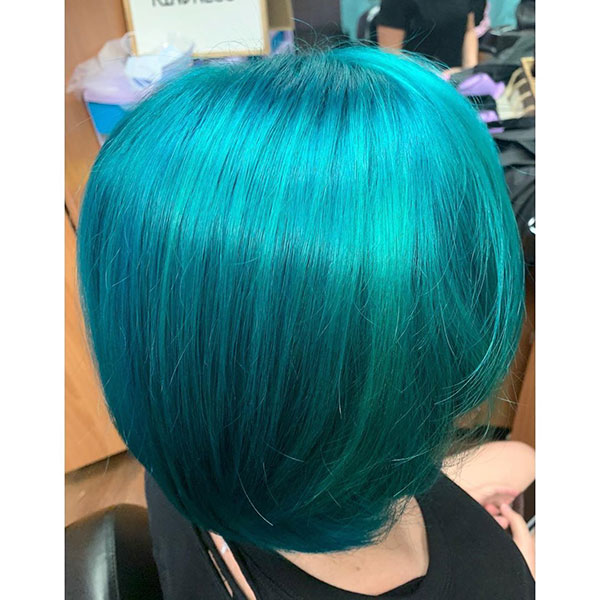 Pictures Of Short Vibrant Hair