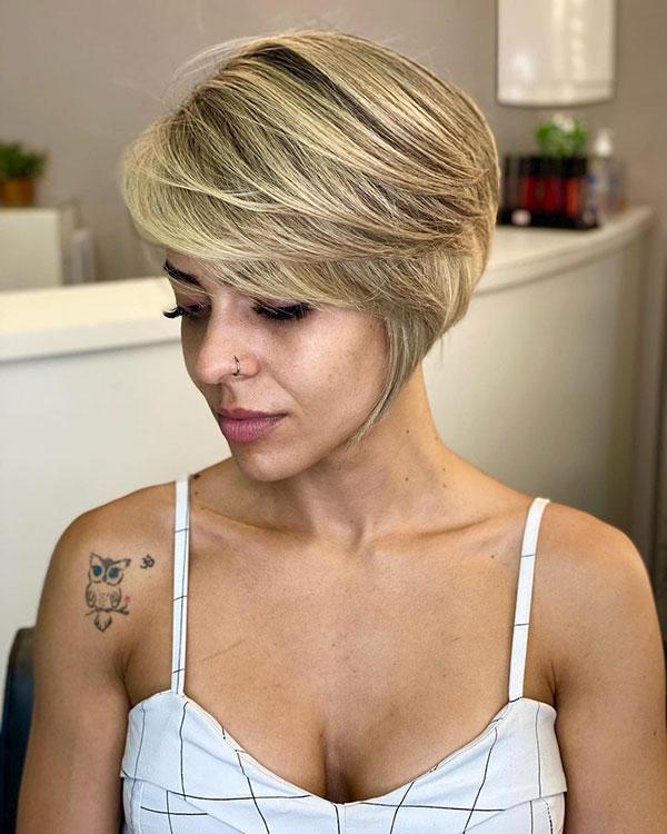 2021 ladies short hair styles
