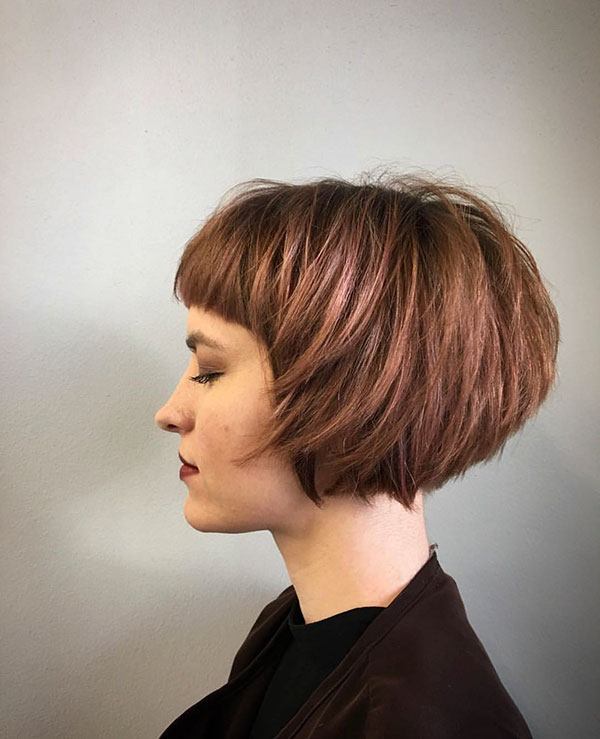 2021 new short hairstyles