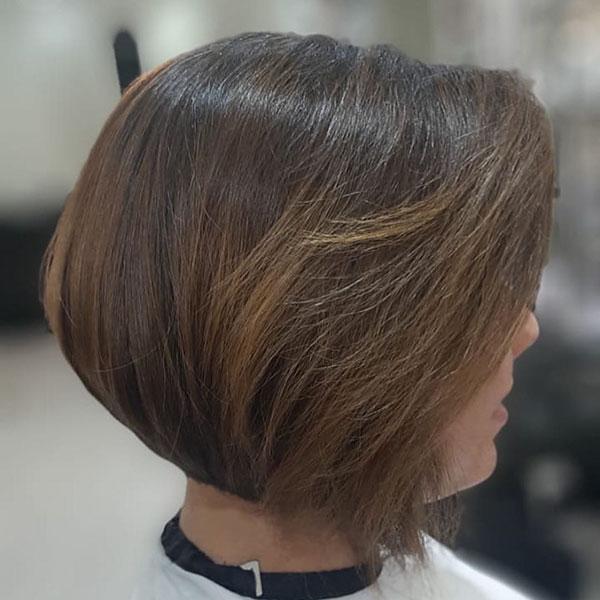 bob hair female