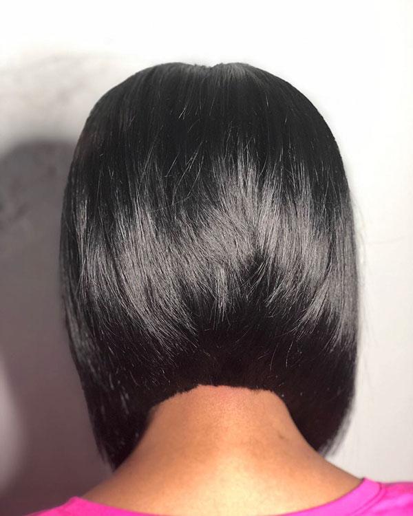 bob hair woman