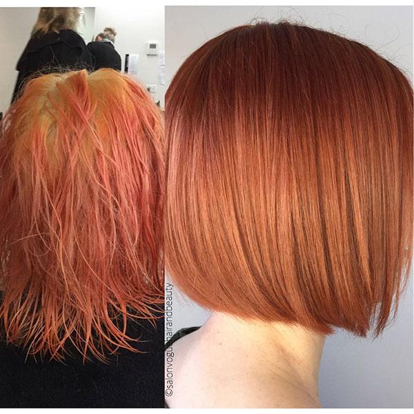 bob short cut hair style