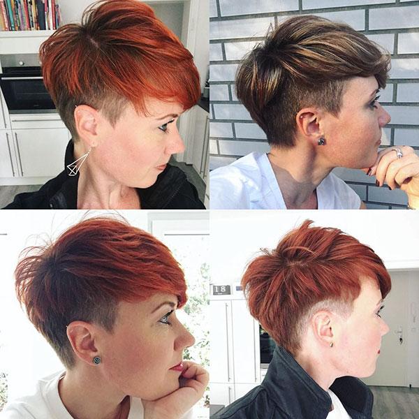 boyish pixie cut