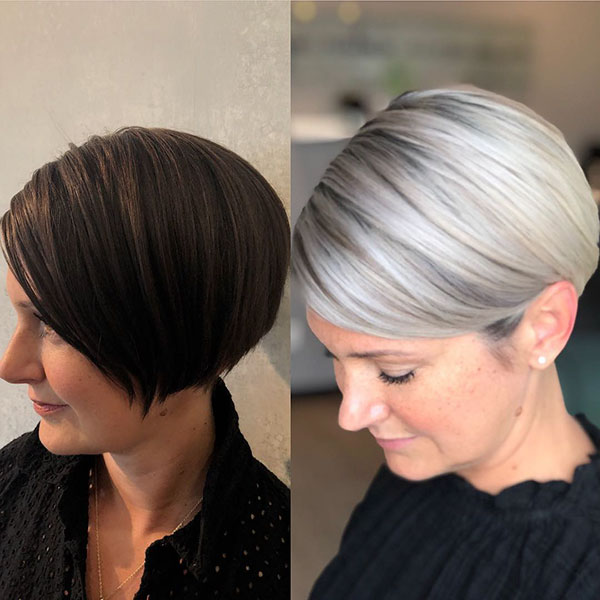 different short haircuts