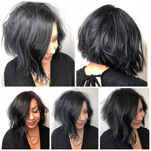 fringed bob hairstyles 2021