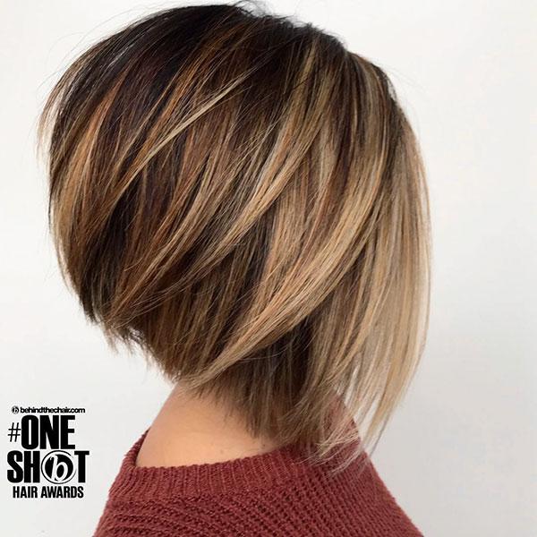 hair cut bob short