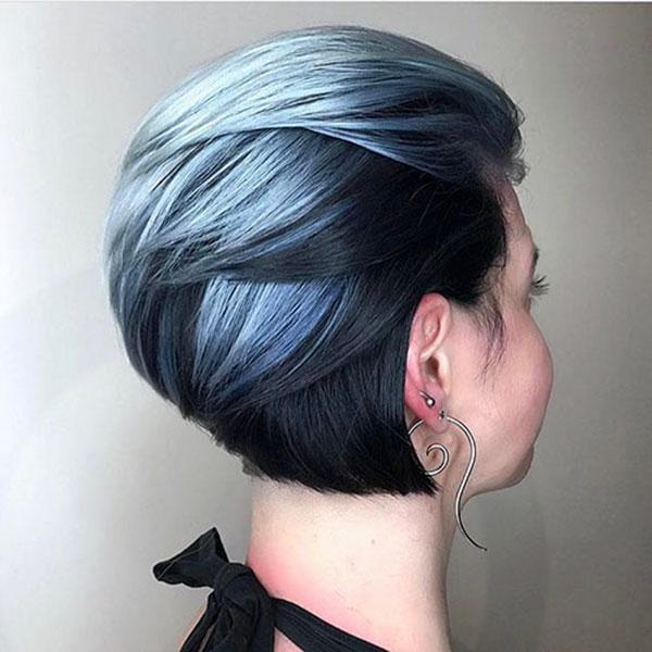 hair cut short woman