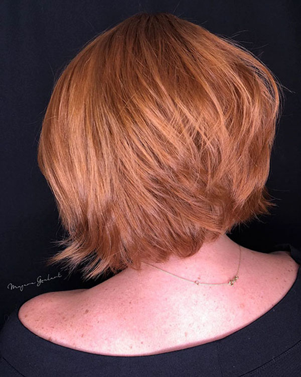 hairstyle for short hair 2021