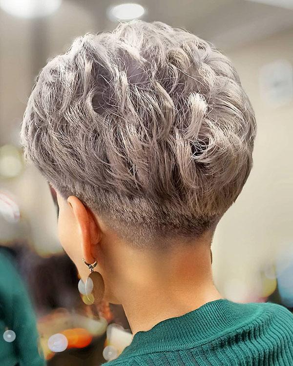 halsey short hair