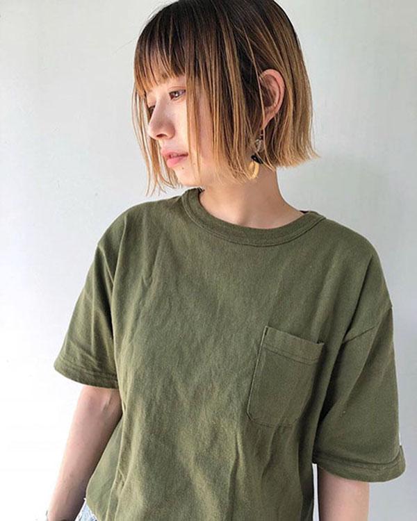 latest short hair