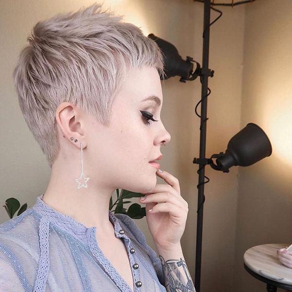 new pixie haircut