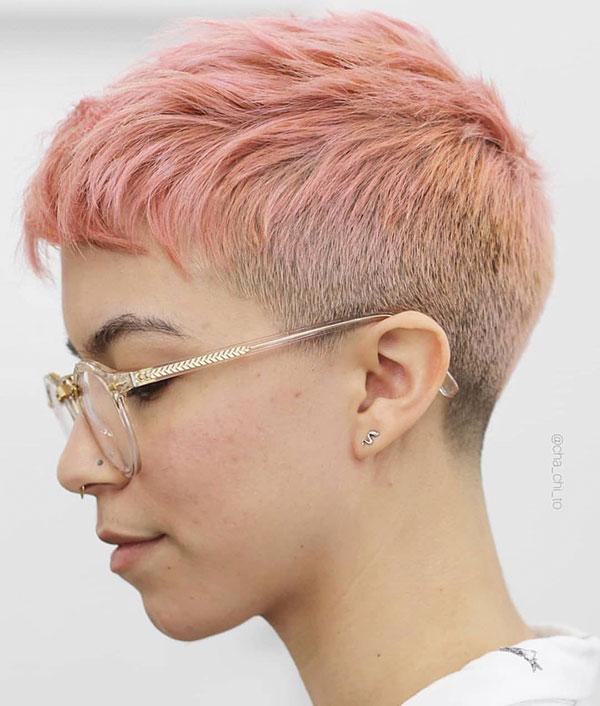perfect pixie cut