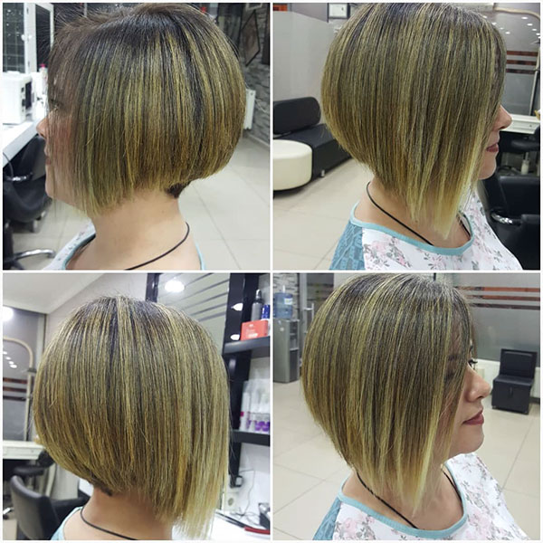 pictures of a short bob