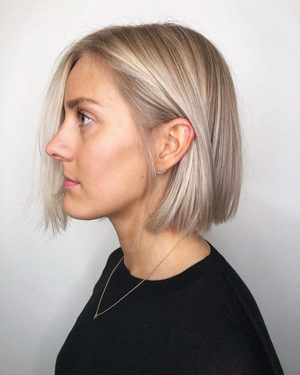 short bob womens hair cut