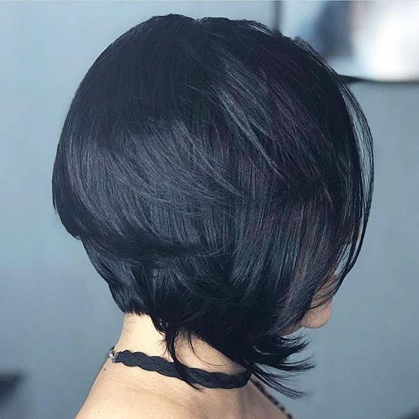 short cut hair
