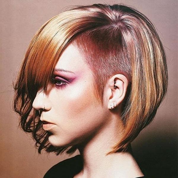 short fall hair