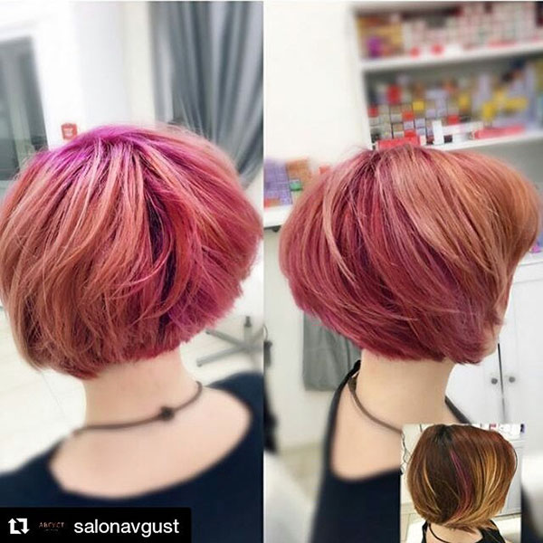 short hair female 2021