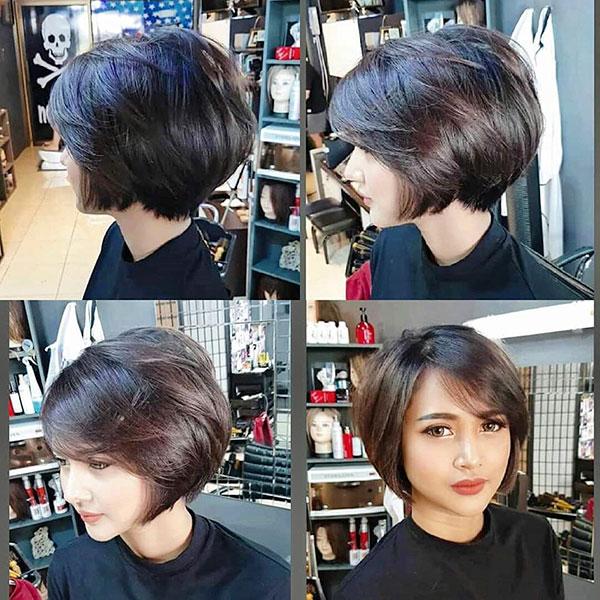 short hair for women 2021