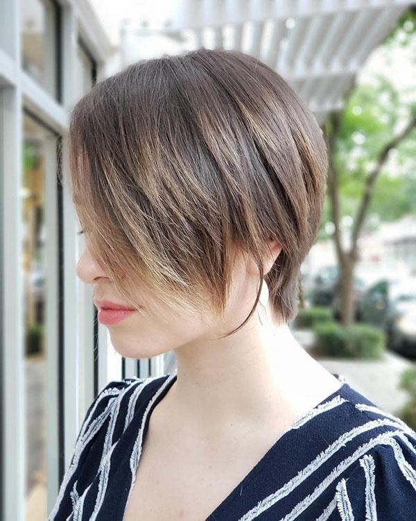 short hair haircuts 2021