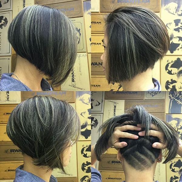 short hair style 2021 female
