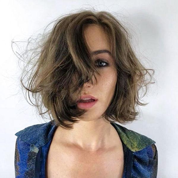 short hair style pic