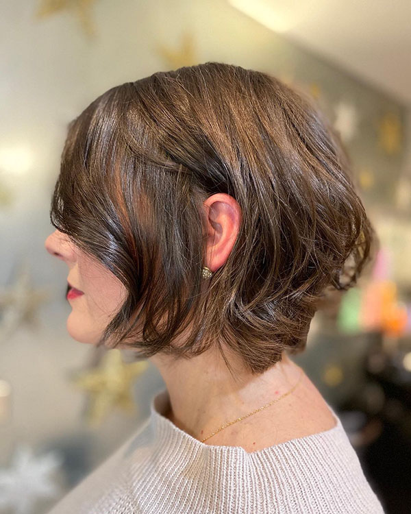 short hair styles of 2021