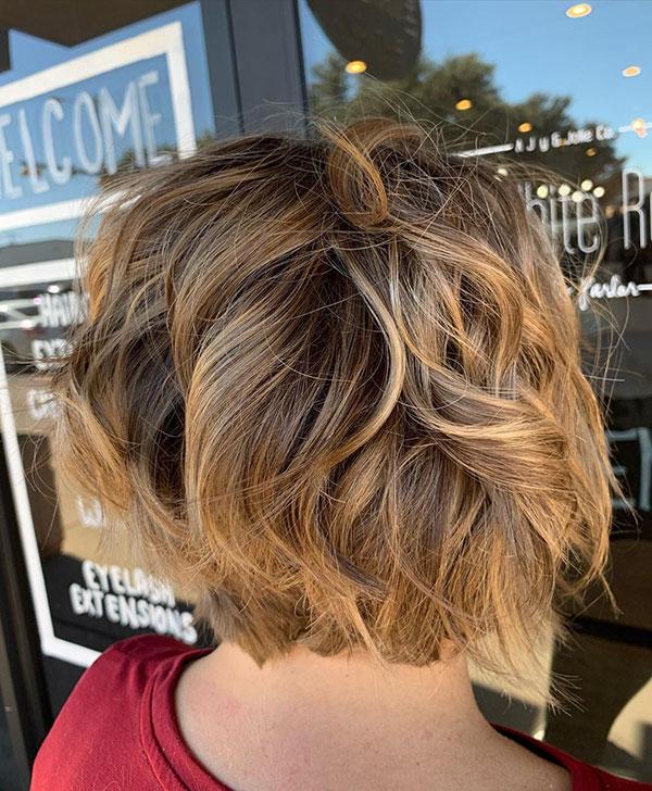 short hair women's haircuts 2021
