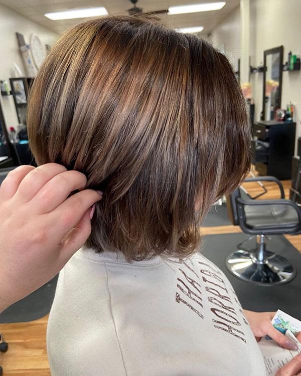 short haircut style 2021