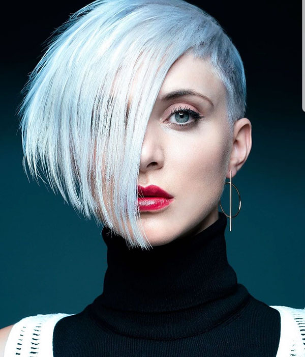 short haircuts for ladies 2021