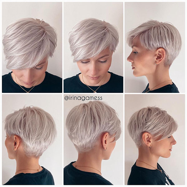 short hairstyle 2021