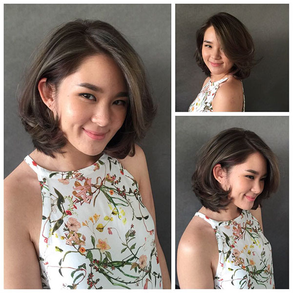 short hairstyle for women 2021
