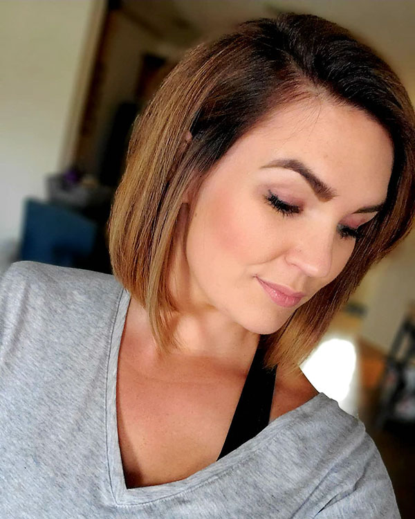 short hairstyles images 2021