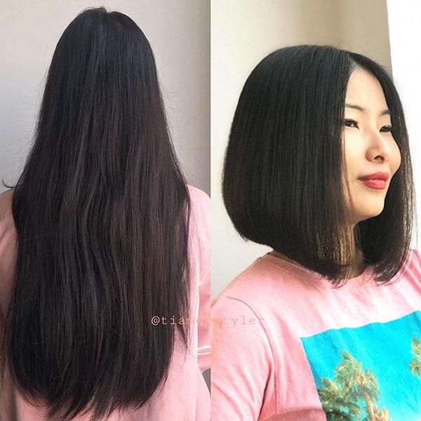trendy bob haircuts 2021
