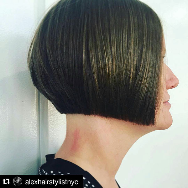 trendy bob hairstyles 2021