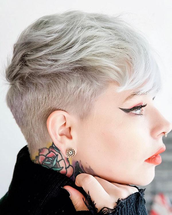 unique short haircuts