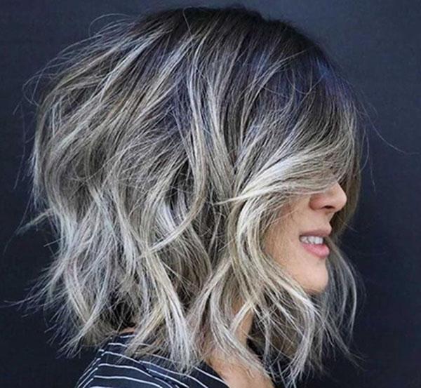 woman hair cut style